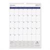 DuraGlobe Monthly Wall Calendar, 17 x 12, 2017