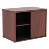 Open Office Low Storage Cabinet Credenza, 29 1/2 x 19 1/8x 22 7/8, Cherry