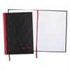 Black n' Red Casebound Notebook Plus Pack, Ruled, 11 3/4 x 8 1/4, 96 Sheets, 2/Pack