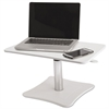 Victor Adjustable Laptop Stand, 21 x 13 x 12 to 15 3/4, White/Chrome