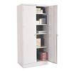 "Tennsco 78"" High Deluxe Cabinet, 36w x 24d x 78h, Light Gray"