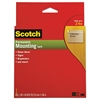 "Scotch Foam Mounting Double-Sided Tape, 1"" Wide x 144"" Long"