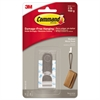 Command Decorative Hooks, Medium, 1 Hook & 2 Strips/Pack