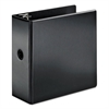 "SuperStrength Locking Slant-D Ring Binder, 5"" Cap, 11 x 8 1/2, Black"