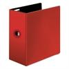 "Cardinal Easy Open Locking Slant-D Ring Binder, 5"", Red"