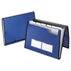 Professional Expanding Document Organizer, Letter, 7 Pockets, Blue