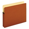 "Pendaflex Bulk File Pockets, Straight Cut, 1 Pocket, Legal, 1 3/4"" Exp, Brown, 50/Carton"