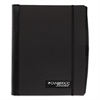 Accents Business Notebook, 9 x 6, 100 Sheets, Black