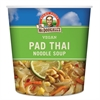 Dr. McDougall's Right Foods Rice Noodle Soup Cups, Pad Thai Noodle Soup, 2 oz Cup, 6/Carton
