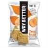 WAY BETTER Tortilla Chips, Sweet Potato, 1 oz Bag, 12/Carton