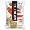 WAY BETTER Tortilla Chips, Sweet Chili, 1 oz Bag, 12/Carton