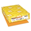 Astrobrights Color Paper, 24lb, 8 1/2 x 11, Cosmic Orange, 500 Sheets