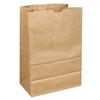 1/6 40/40# Paper Grocery Bag, 40lb Kraft, Standard 12 x 7 x 17, 400 bags