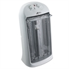 "Quartz Tower Heater, 13 1/4""w x 10 1/8""d x 23 1/4""h, White"