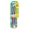 InkJoy 700 RT Retractable Ballpoint Pen, 1mm, Black Ink, Assorted Barrel, 2/Pack