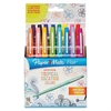 Point Guard Flair Bullet Point Stick Pen, Tropical Inks, .7mm, 16/Set