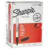 Sharpie Fine Point Permanent Marker, Black, 36/Pack