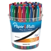 Point Guard Flair Bullet Point Stick Pen, Assorted Ink, 1.4mm, 48 Pens/Set