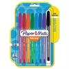 Paper Mate InkJoy 100 Ballpoint Stick Pen, 1mm, Assorted, 8/Set