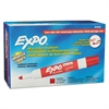 EXPO Low Odor Dry Erase Marker, Bullet Tip, Red, Dozen
