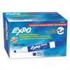 EXPO Low Odor Dry Erase Marker, Chisel Tip, Blue, Dozen