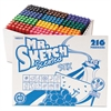 Mr. Sketch Scented Stix Watercolor Markers, Fine Point, 12 Colors, 216/Set