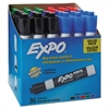 EXPO Low Odor Dry Erase Marker, Chisel Tip, Assorted, 36/Box