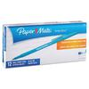 Paper Mate Write Bros Stick Ballpoint Pen, Blue Ink, 0.8mm, Dozen