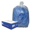 Clear Low-Density Can Liners, 55-60gal, .9 Mil, 38 x 58, Clear, 100/Carton