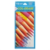 Col-Erase Pencil w/Eraser, 12 Assorted Colors/Set