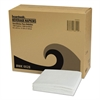 Office Packs Beverage Napkins, 1-Ply, 8 1/2 x 8 1/2, White, 4000/Carton