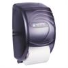 San Jamar Duett Standard Bath Tissue Dispenser, Oceans, 7 1/2 x 7 x 12 3/4, Black Pearl