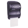 San Jamar Electronic Touchless Roll Towel Dispenser, 11 3/4 x 9 x 15 1/2, Black