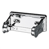 San Jamar Locking Toilet Tissue Dispenser, 6 x 4 1/2 x 2 3/4, Chrome