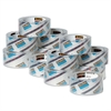 "3850 Heavy-Duty Tape Refills, 1.88"" x 54.6yds, 3"" Core, Clear, 36/Carton"