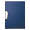 "Mobile OPS Portfolio Clipboard With Low-Profile Clip, 1/2"" Capacity, 11 x 8 1/2, Blue"