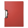 "Portfolio Clipboard With Low-Profile Clip, 1/2"" Capacity, 11 x 8 1/2, Red"
