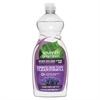 Natural Dishwashing Liquid, Lavender Floral & Mint, 25 oz Bottle, 12/Carton