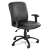 Safco Uber Series Big & Tall Swivel/Tilt High Back Chair, Vinyl, Black