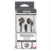 Maxell Colorbuds with Microphone, Silver