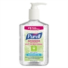PURELL Advanced Green Certified Instant Hand Sanitizer Gel, 8 oz Pump Bottle, 12/Carton