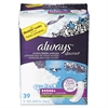 Always Discreet Sensitive Bladder Protection Pads, Maximum, Extra Long, 39/Pk