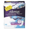 Always Discreet Sensitive Bladder Protection Pads, Regular, 66/Pack, 3 Pack/Carton