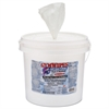 2XL Antibacterial Gym Wipes, 6 x 8, Fresh Scent, 700 Wipes/Bucket, 2 Buckets/Carton