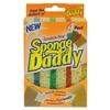 Scrub Daddy Sponge Daddy Dual-Sided Sponge, 3 3/8 x 5.563 x 2 5/8, Assorted,4/Pk,20Pk/Ctn