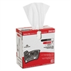 Light Weight HEF Disposable Shop Towels, 9.1 x 16.7, White, 148/Box, 10/Carton
