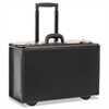 STEBCO Collection Tufide Rolling Catalog Case, 22 1/4 x 9 x 13 1/2, Black