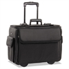 STEBCO Collection Catalog/Computer Case on Wheels, Nylon, 18 x 8 x 13, Black