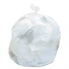 High-Density Can Liners, 20-30 Gal, 16 Mic, 30 x 37, Natural, 500/Carton