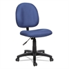 Essentia Series Swivel Task Chair, Acrylic, Blue
